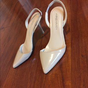 Shoes - 5.5 nude color heels